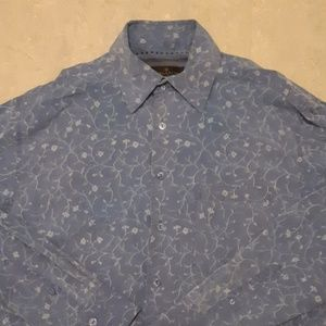 Bugatchi Uomo floral long sleeve sports shirt M